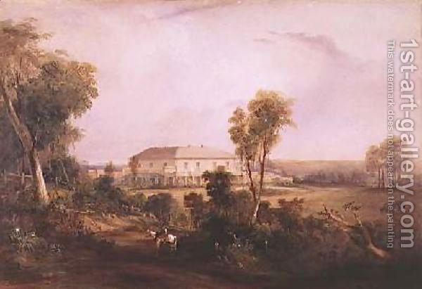 Conrad Martens:Camden Park House home of John MacArthur
