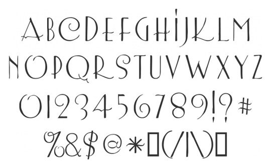 This site has some darling fonts.