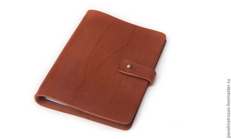 Купить Тетрадь на кольцах А5 формата - коричневый, ежедневник, тетрадь…