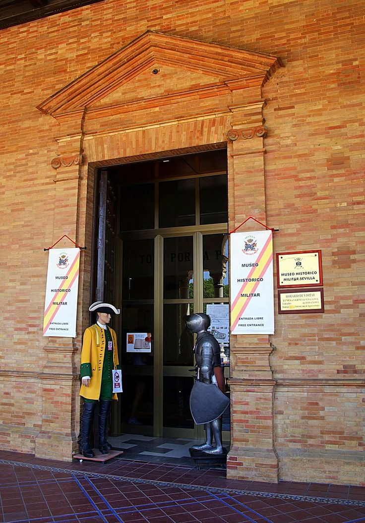 Leyendas de Sevilla: Museo Histórico Militar de Sevilla, -I. Una sorpresa inesperada.Museo Histórico Militar de Sevilla, -I. Una sorpresa inesperada.