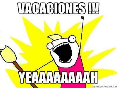 El blog de Ángela: Vacaciones
