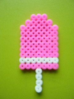Jégkrém - nyári képek mellé egy emlékalbumba szuper kiegészítő. Sőt, ahogy a Csanavarázson írtuk, több egyformát készítve belőle tudunk csinálni memóriajátékot.   Készítsd el dísznek vagy memóriajátéknak gyöngyeinkből! http://on.fb.me/1cc0O7O