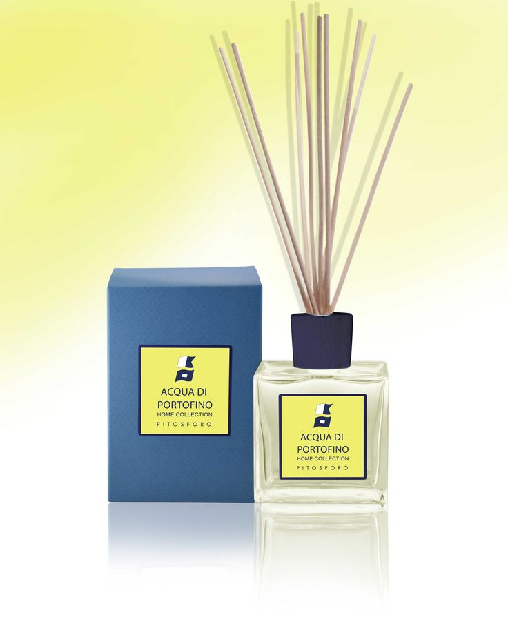 The Acqua Di Portofino Home Collection of diffusers will surround you with the armoa of the Italian Riviera. Pitosforo flowery fragrance will lift your spirits in any room in your home.