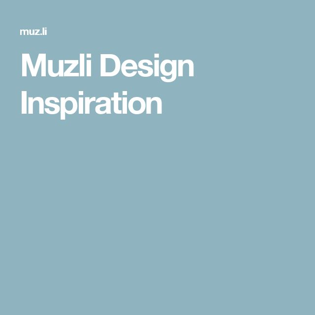 Muzli Design Inspiration