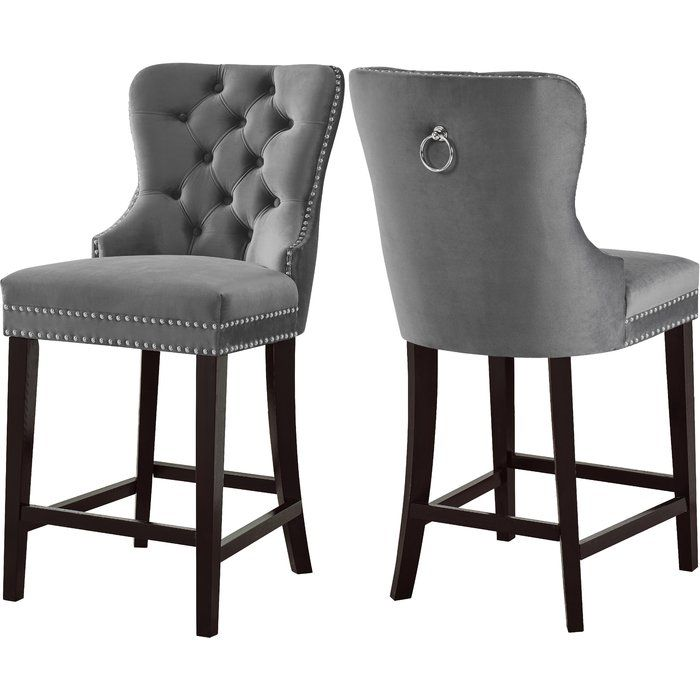 Costigan Velvet 26 Bar Stool | Bar