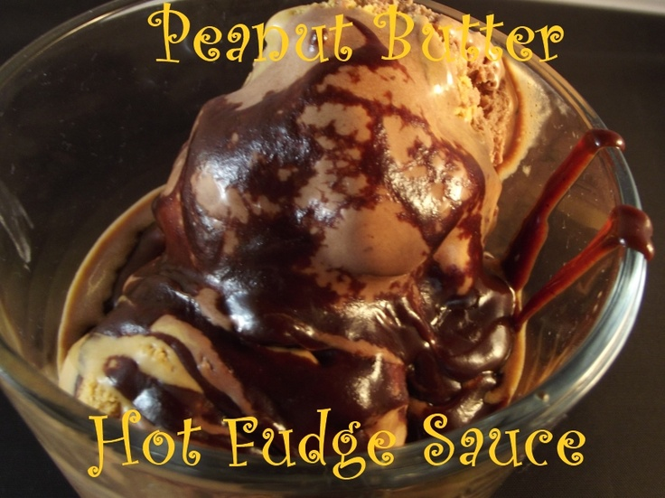 Homemade chocolate peanut butter hot fudge sauce: Hot Fudge Sauce