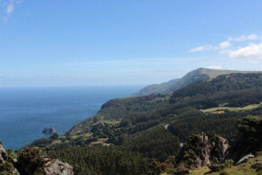 Costa norte da Galiza, España.