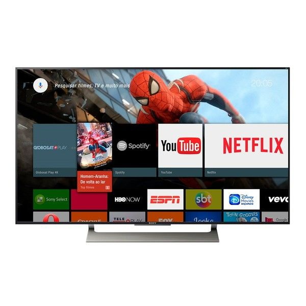 awesome Smart Tv Sony Led 4k Hdr Xbr - 55x905e 55 ´, Android Tv, Wi - fi, Motionflow, Triluminos, 4k X - realitypro