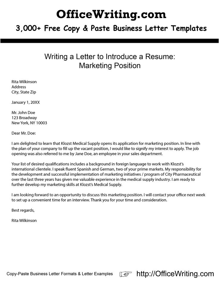 As 25 melhores ideias de Letter writing samples no Pinterest - sample business letter example