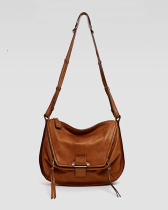 Leroy+Shoulder+Bag,+Tan+by+Kooba+at+Neiman+Marcus.