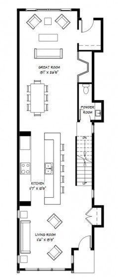 Plano de casa de dos pisos                                                                                                                                                                                 Más