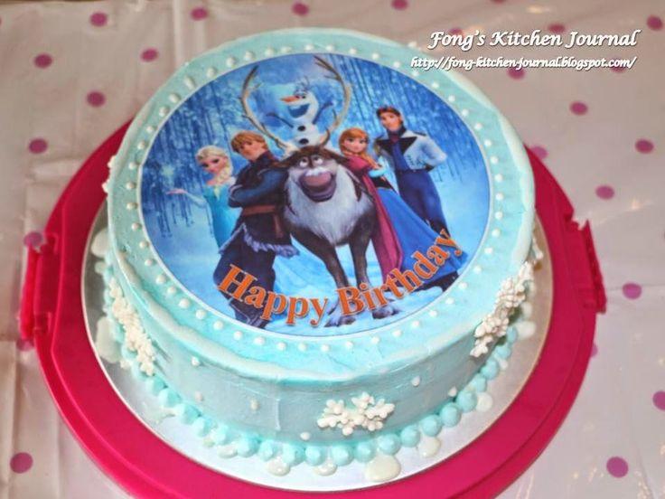 Best 25 Simple frozen cake ideas on Pinterest Easy frozen cake