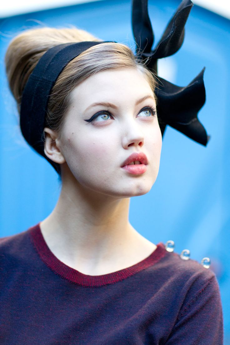 Lindsey Wixson for Moschino, Milan FW, by Kevin Tachman for Vogue
