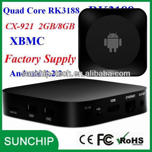 Quad Core Jelly Bean Android TV Box CX-921 Chinese TVs