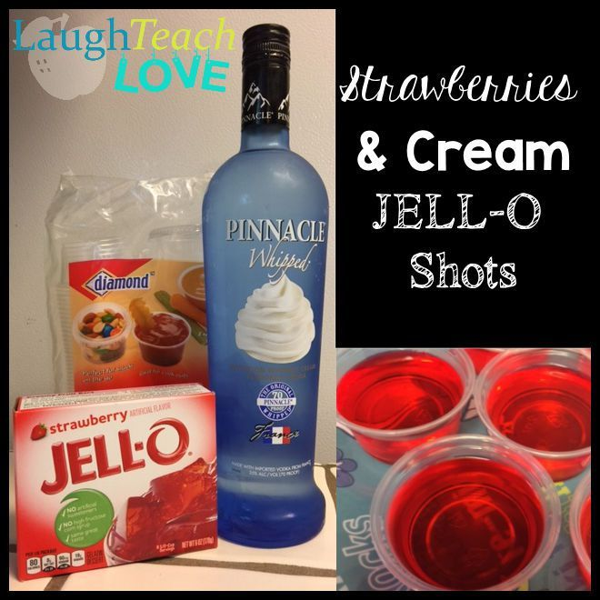 ... Jello Shots on Pinterest | Jello Shots, Jello and Strawberry Margarita