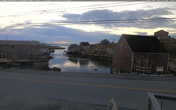 Nova Scotia Webcams - Peggys Cove Village History   South Shore