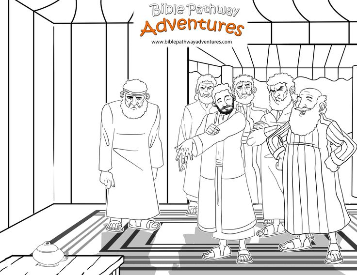 free bible activities for kids | bible stories, bible and bible ... - Bible Story Coloring Pages Joseph
