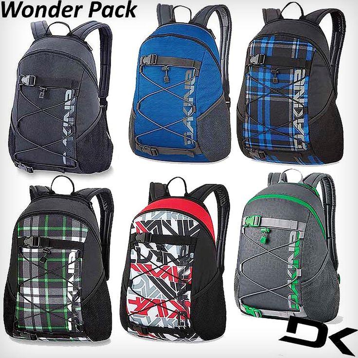 En Korner siempre, lo mejor de lo mejor: mochilas Dakine http://www.kornerst.com/mochilas-y-viajes-mochila-street/347-dakine-wonder-pack.html