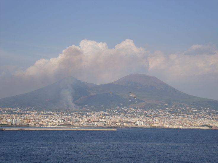 Naples, Italy - Mt. Vesuvius - Mediterranean Cruise