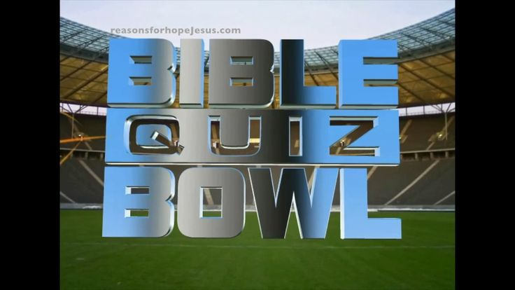 Super Bowl - Bible Quiz - Game  PLAY NOW! See how you score! >> Read also: Is It a Sin to Drink Alcohol? https://reasonsforhopejesus.com/sin-drink-alcohol/ The Super Bowl of Drunkenness>>Stats you need to read: https://reasonsforhopejesus.com/super-bowl-drunkenness/