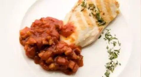 Pechugas de pollo con salsa barbacoa casera
