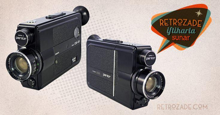 Pentor Super 8 Film Kamerası