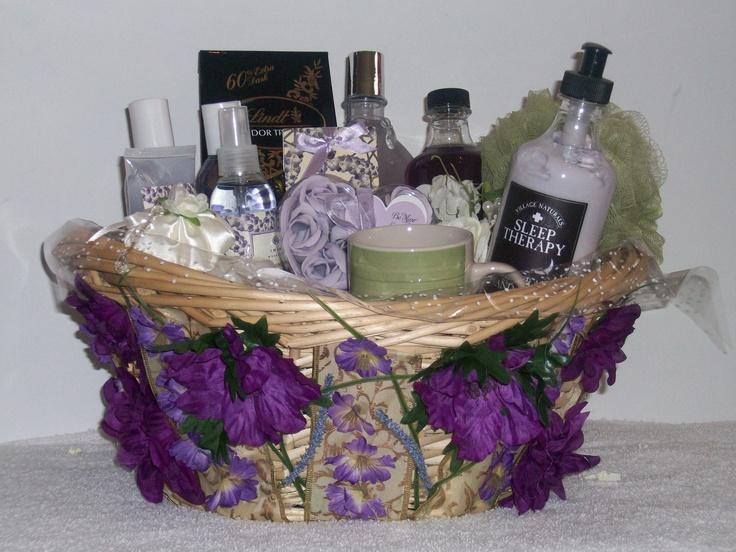 "Ultimate Lavender (Spa Gift Basket)   ""Item Sold"" http://www.bonanza.com/booths/pat21"