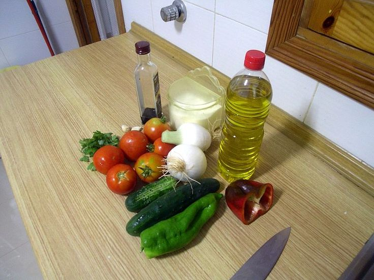 Dieta Mediterránea Gazpacho