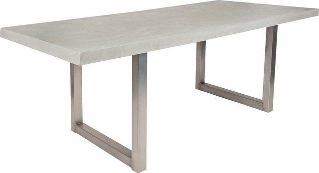 Esstisch Tops Mit Tischplatte In Betonoptik Hausmobel Esstisch Tisch