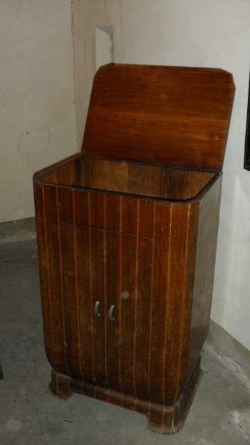 Vintage Mobile porta giradischi Vintage cabinet record player 5