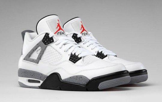 Jordan 4 White Cement