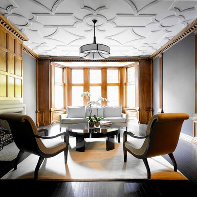 historic home with the latest technology modern living room chicago by integrisys