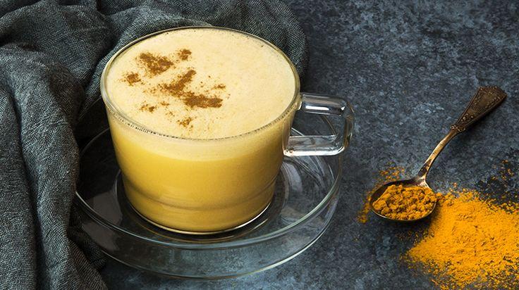 Golden Milk Turmeric Tea Latte