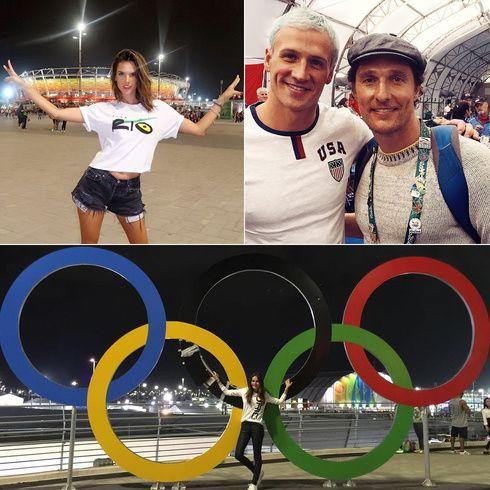 リオオリンピックに熱狂するセレブのSNSをパトロール!