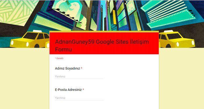 Google Formlar ile oluşturulmuş İletişim Sayfası, Google Sites temaya nasıl gömülür? Gömme işlemi için İletişim sayfa kodları nasıl alınır ve kullanılır? Konu hakkında detaylı bilgiler. Google Driv…