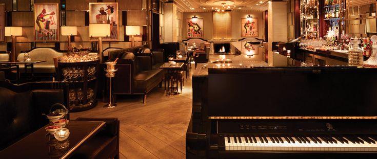 Bassoon Piano Bar   Luxury Contemporary Bar   Luxury Hotel London