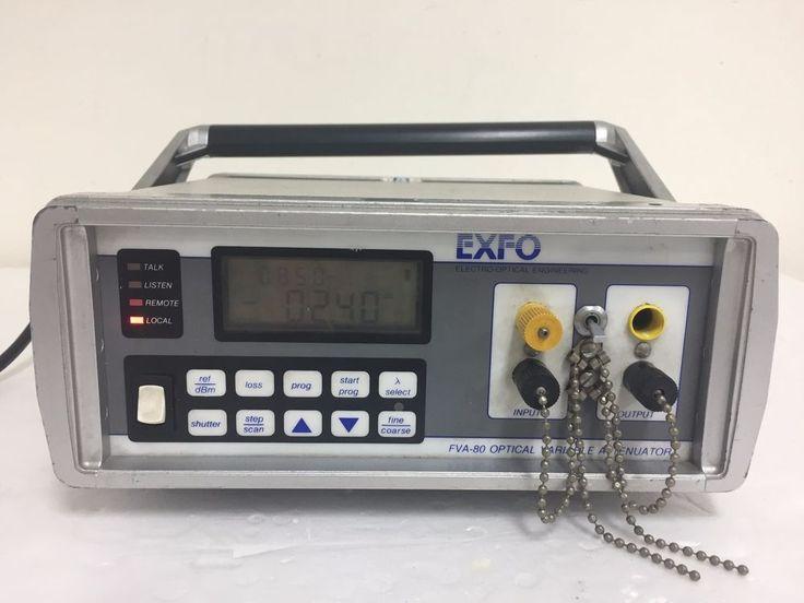 [Exfo FVA-80] Optical Variable Attenuator #Exfo