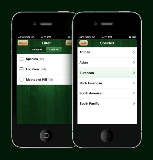 Share your hunting experiences with the BIG BUCK DOWN! app.