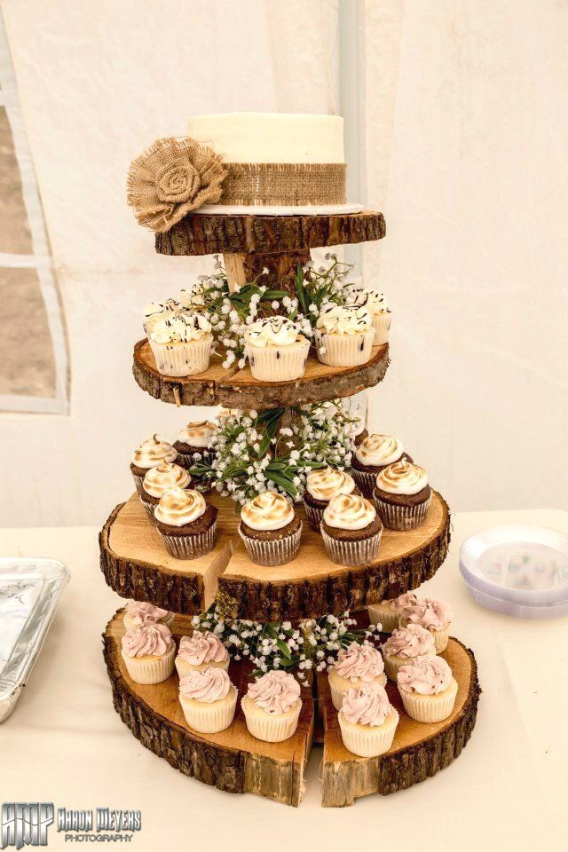 Amazing Rustic Wedding Cakes Diy Cupcake Stand Wedding Country