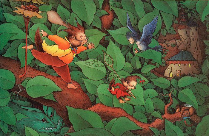 Claude Ponti. L'arbre sans fin