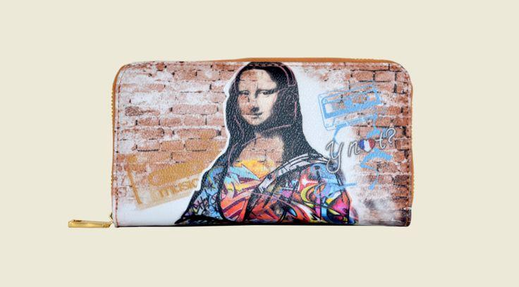 Mona Lisa Street Art purse