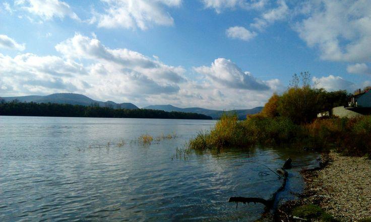 Verőce, Dunapart
