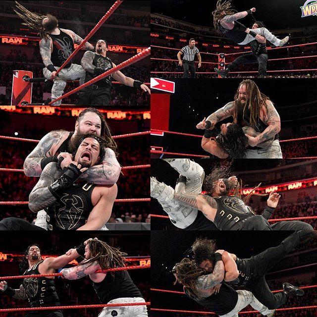 Good to see Roman can win again 👊🏼👊🏼 a very good match with Bray 📷: WWE NETWORK #wwe #wweraw #wwefan #wweuniverse #mondaynightraw #braywyatt #romanreigns #romansyard #joeanoai #theguy #hithardhitoften #oneversusall #belivethat #theshield