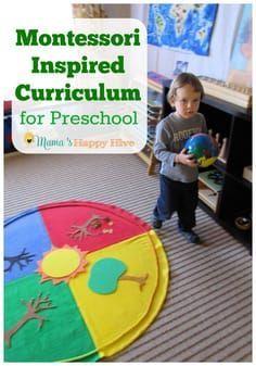 Montessori Inspired Homeschool Plan for Preschool – Montessori