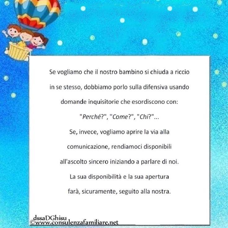 Che tipo di comunicazione con i nostri #figli, vogliamo costruire? #educazione #figlio #crescita #infanzia #puerperio #genitore #psicologiadellinfanzia #mamma #bambini #famiglie #papà #consulenzagenitoriale #psicopedagogia #dssaDGhisu