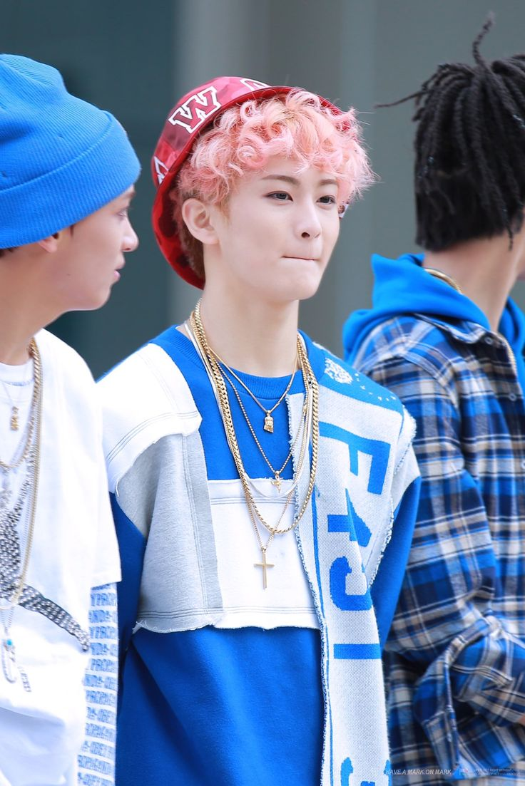 mark curly pink hair wrecking