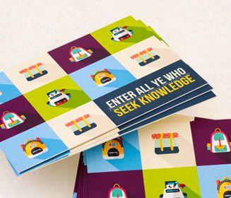 design a postcard online