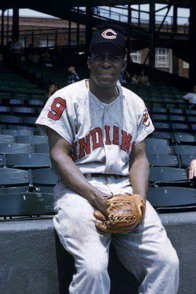 "Minnie Minoso, ""The Cuban Comet"", made his debut in the majors with the Cleveland Indians in April, 1949. Overall, Minnie played for the Tribe in 1949, 1951 and 1958-59."