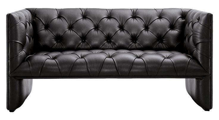 Диван Edwards Loveseat – роскошный и богатый предмет мебели, который непременно добавит лоска и шика любой комнате дома и подчеркнет ваш непревзойденный вкус в оформлении интерьера. Обивка из высококачественной натуральной кожи, благородный черный цвет и мягкое удобное сиденье дают в совокупности превосходное место отдыха и уникальное украшение помещения.             Материал: Кожа натуральная.              Бренд: DG Home.              Стили: Лофт.              Цвета: Черный.
