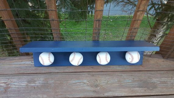 Check out this item in my Etsy shop https://www.etsy.com/listing/462143486/baseball-softball-trophy-shelf-sports